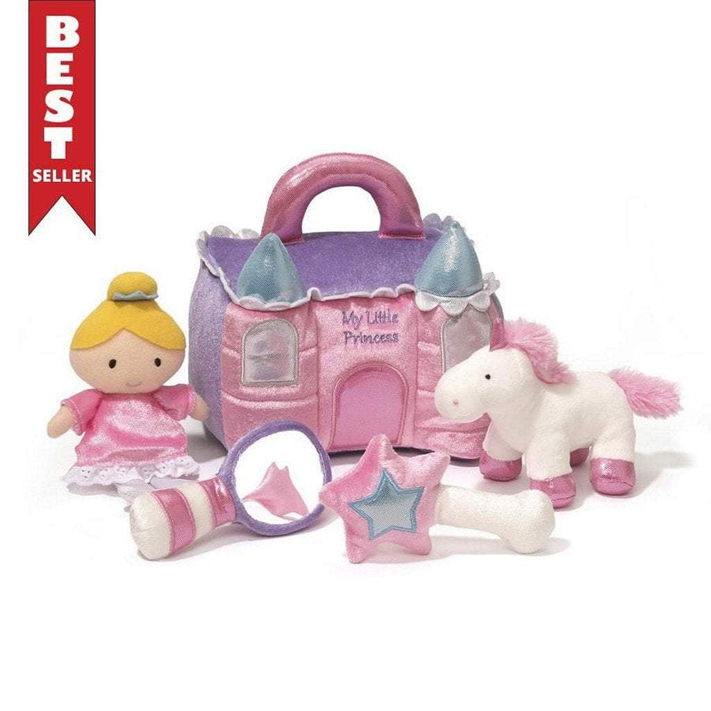 GUND Gifts & Apparel Gund My Princess Castle Plush Play Set