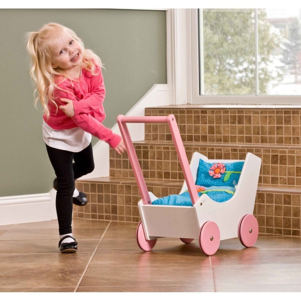 HABA Walk Along Dolly Doll Pram-Dolls-Babysupermarket
