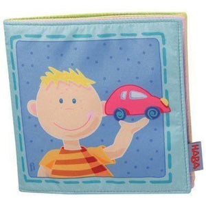HABA A Day With Paul Fabric Book-Toys-Babysupermarket