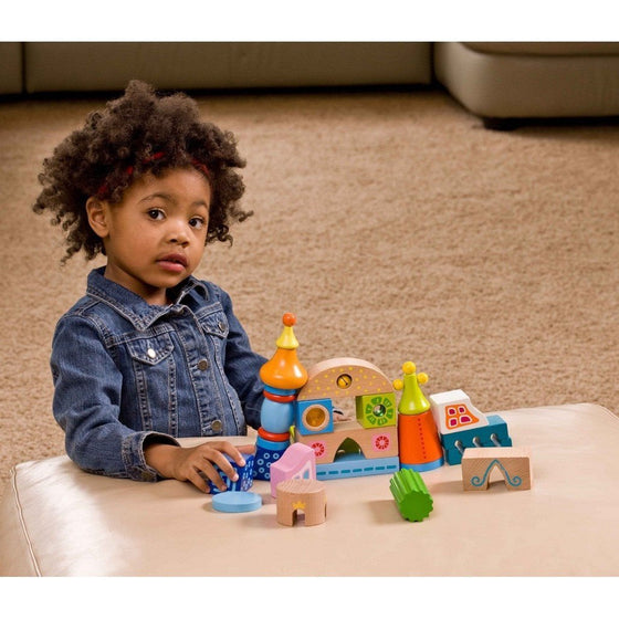 HABA Toys HABA Fortress Of Fun Discovery Play Blocks