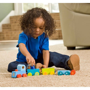 HABA Habatown All Aboard! Train-Toys-Babysupermarket
