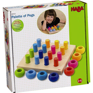 HABA Palette Of Pegs-Toys-Babysupermarket