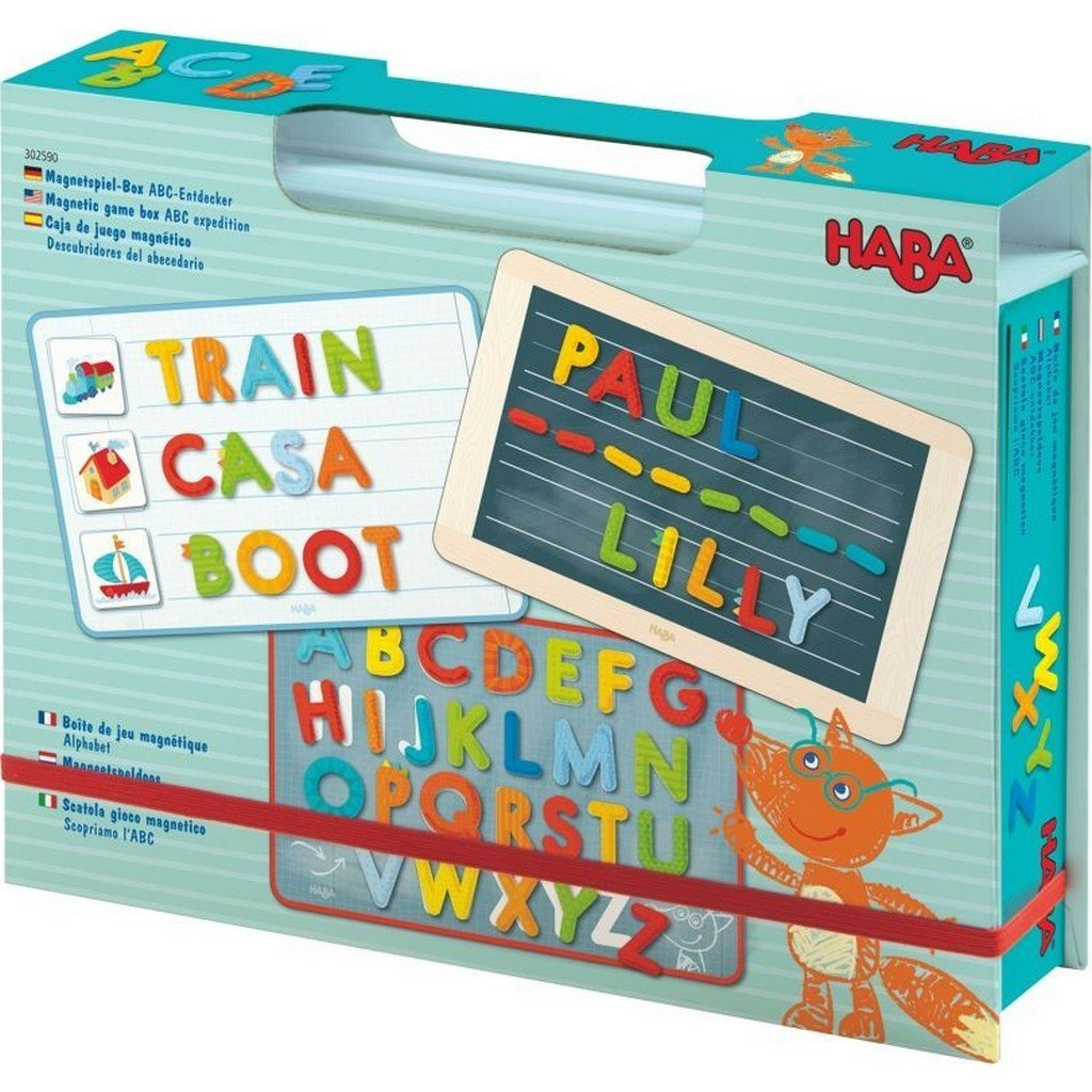 Haba Toys Haba Toys ABC Expedition Magnetic Game