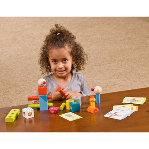 Haba Toys Haba Toys Brain Builder Peg Set