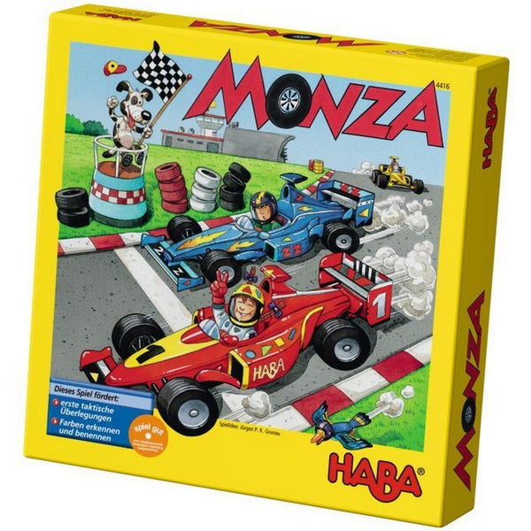 Haba Toys Monza Race Car Game