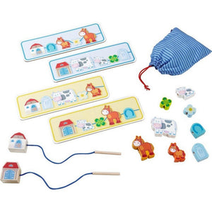 Haba Toys Haba Toys Threading Game On The Farm