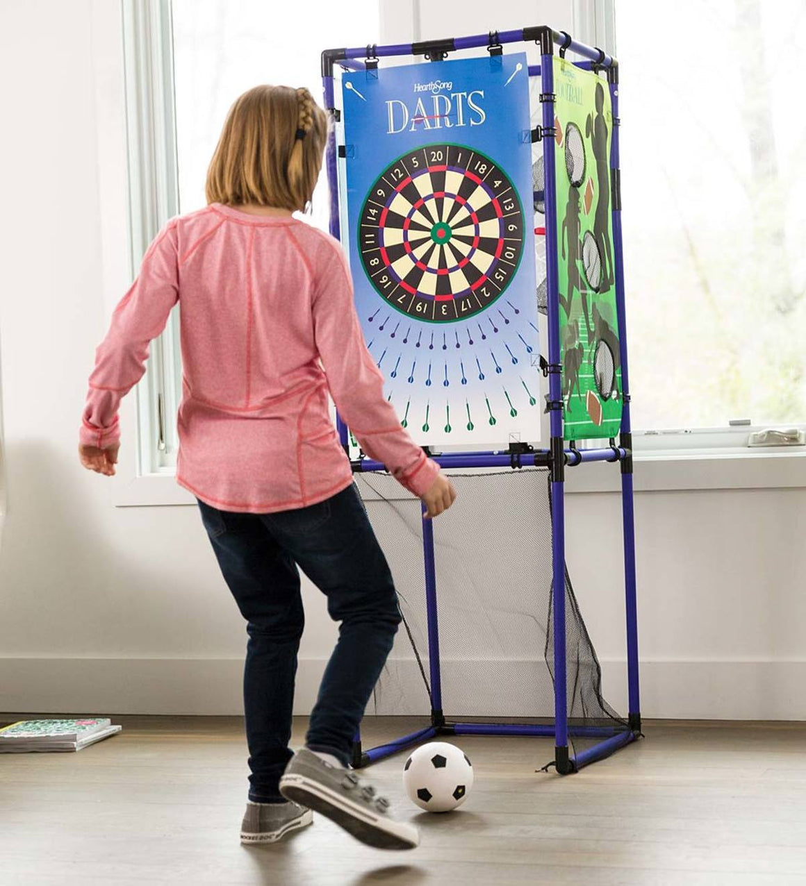 Hearth Song Toys Hearth Song 5-in-1 Multi-Sport Indoor Outdoor Target Game