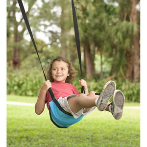 Hearth Song Toys Hearth Song Easy-Go Sling Swing - Blue
