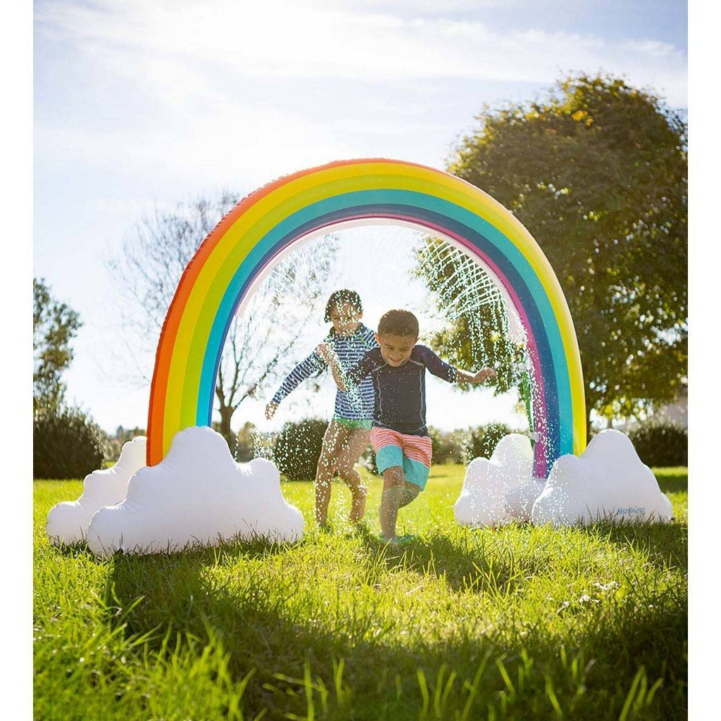 Hearth Song Toys Hearth Song Giant Inflatable Rainbow Arch Sprinkler