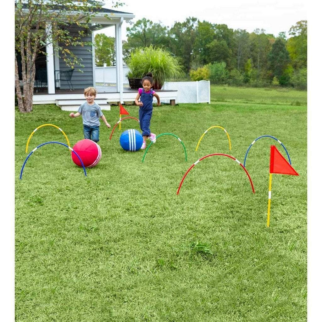 Hearth Song Toys Hearth Song Giant Kick Croquet Game