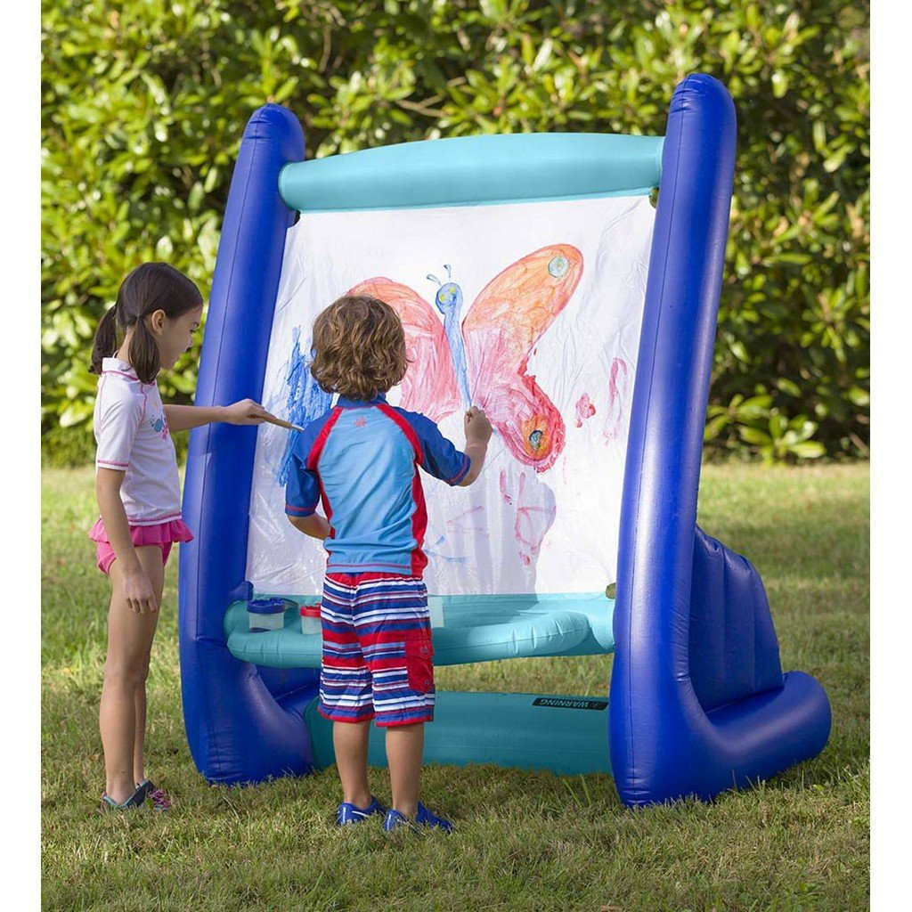 Hearth Song Toys Hearth Song Inflatable Easel with Paints