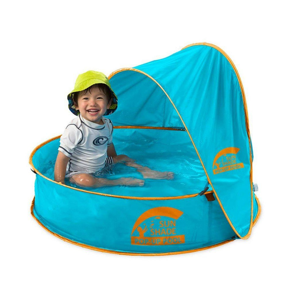 Hearth Song Toys Hearth Song Kids SunShade® Pop-Up Pool - Blue