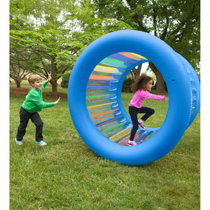 Hearth Song Toys Hearth Song Roll With It! Giant Inflatable Rolling Wheel