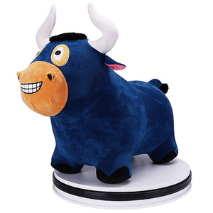 Next Generation Toys I Play I Learn Blue Bull Hopper Ride on Inflatable