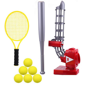 I Play I Learn Toys I Play I Learn Toys Baseball & Tennis Ball Pitching Game Machine