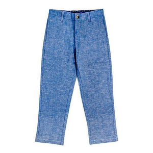 The Bailey Boys Boys Apparel 4 J. Bailey Boys Champ Sky Linen Pants