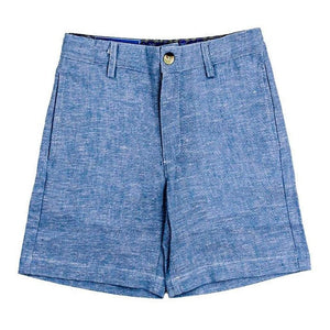 The Bailey Boys Boys Apparel 4 J. Bailey Boys Pete Sky Linen Shorts