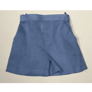 Jack & Teddy Boys Apparel 2T Jack & Teddy Boys Blue Linen Shorts