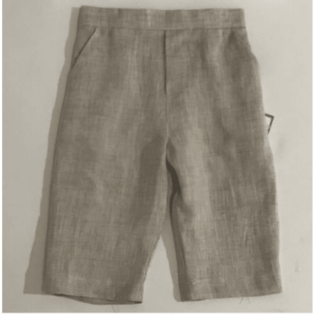 Jack & Teddy Boys Apparel 2T Jack & Teddy Boys Khaki Linen Pants