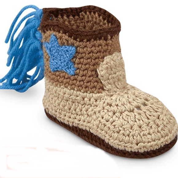 Jefferies Socks Cowboy Boot Booties-Gifts & Apparel-Babysupermarket