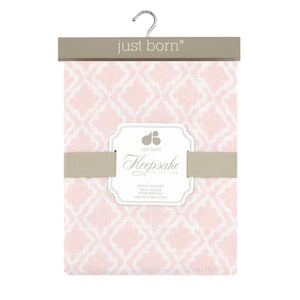 Just Born Keepsake Collection Crib Sheet-Nursery Décor-Babysupermarket