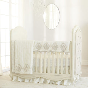 Just Born Keepsake Collection Crib Skirt-Nursery Décor-Babysupermarket