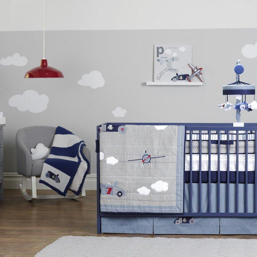 Just Born Nursery Decor Just Born Retro Ride Nursery Bedding Set