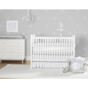 Just Born Ruffled Medallions Baby Bedding Set-Nursery Decor-Babysupermarket