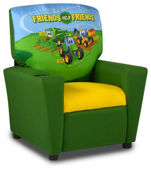 Kangaroo Trading Furniture Kangaroo Trading Child Recliner John Deere Friends
