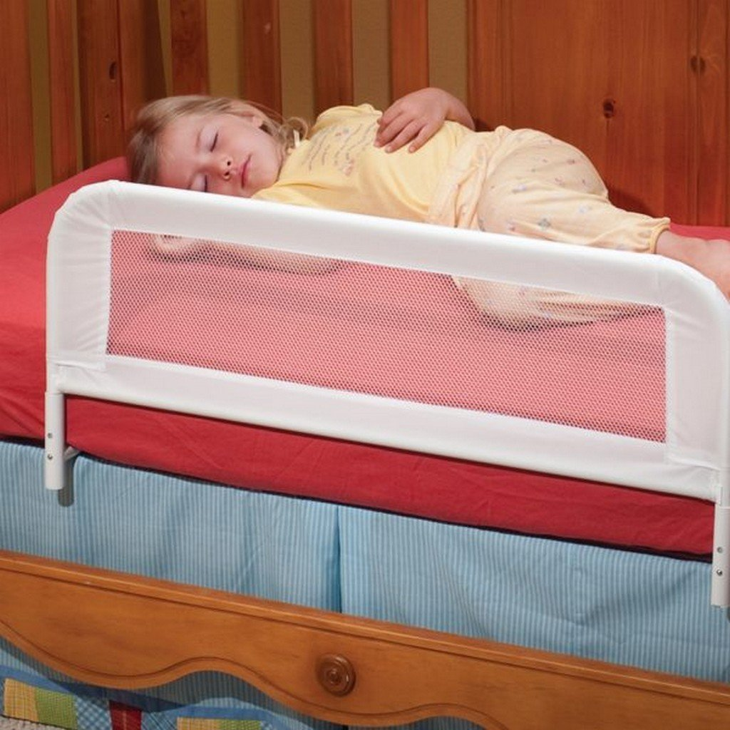 KidCo Baby Care Kidco Convertible Crib Mesh Bed Rail Telescopic