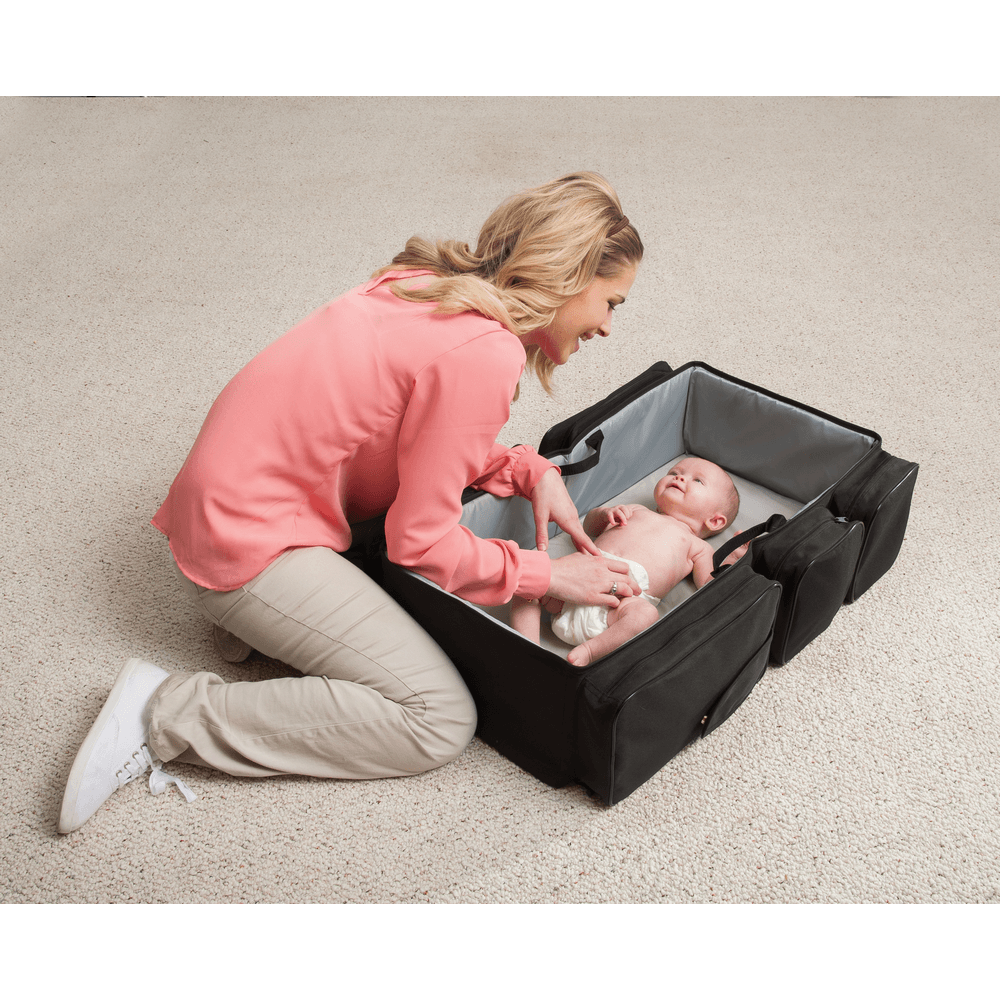 Kidco DiaperPod Travel Bag With Resting Station for Baby-Baby Care-Babysupermarket