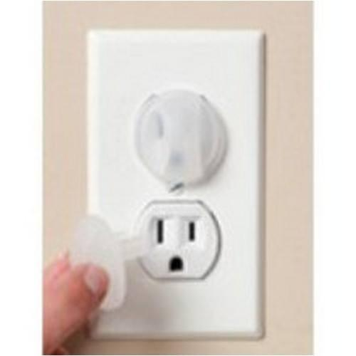 Kidco  Electrical Outlet Caps 12 Pk-Baby Care-Babysupermarket
