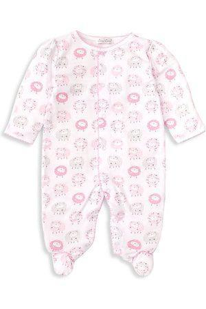 Kissy Kissy Apparel NB Kissy Kissy Shabby Sheep Footie Pink