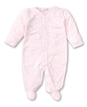 Kissy Kissy Apparel PR Kissy Kissy Starry Sky Footie Pink