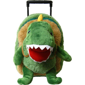 Kreative Kids Toys Kreative Kids T-Rex Dinosaur Plush Animal Roller Bag