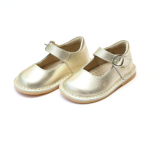 LAMOUR Shoes 6 / Gold L'Amour Toddler or Kid Girls Gold Mary Jane Shoe