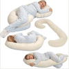 Leachco Snoogle Total Pregnancy Body Pillow Chic Zip Tee-Ivory-Baby Care-Babysupermarket