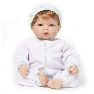 Lee Middleton Dolls Lee Middleton Munchkin Straw Blonde/Blue Play Doll