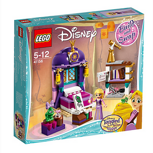 LEGO Toys LEGO Disney Princess Rapunzel's Castle Bedroom 41156
