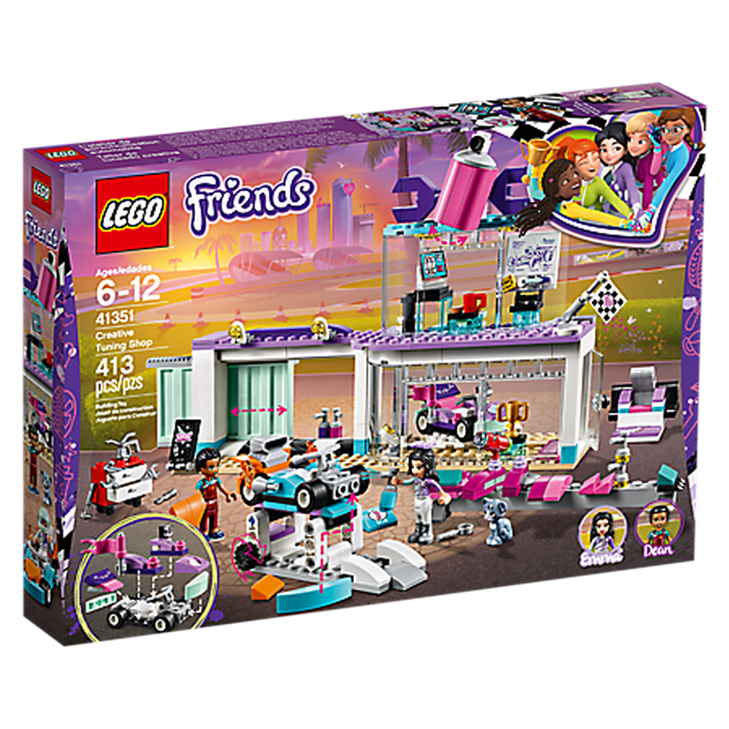LEGO Toys LEGO Friends Creative Tuning Shop 41351