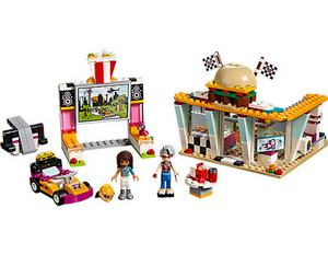 LEGO Toys LEGO Friends Drifting Diner 41349