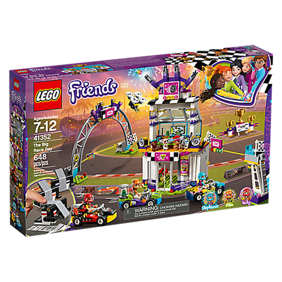 LEGO Toys LEGO Friends The Big Race Day 41352