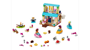 LEGO Toys LEGO Juniors Stephanie's Lakeside House 10763