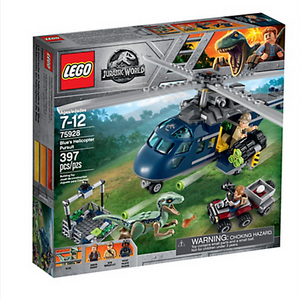 LEGO Toys LEGO Jurassic World Blue's Helicopter Pursuit 75928