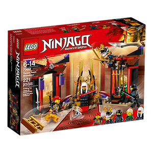 LEGO Toys LEGO Ninjago Throne Room Showdown 70651