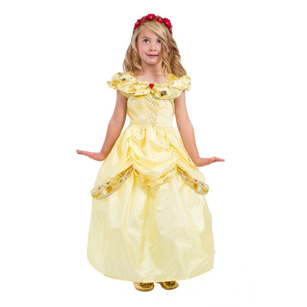 Little Adventures Toys Small Little Adventures Classic Yellow Beauty Dress Up