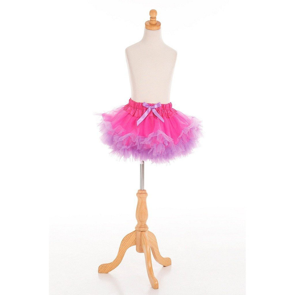 Little Adventures Toys Little Adventures Fluffy Tutu Fuchsia /Lt.Purple Dress Up