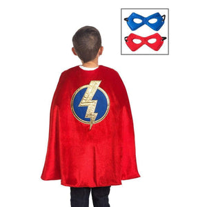 Little Adventures Toys Little Adventures Red Hero Cape & Mask Set