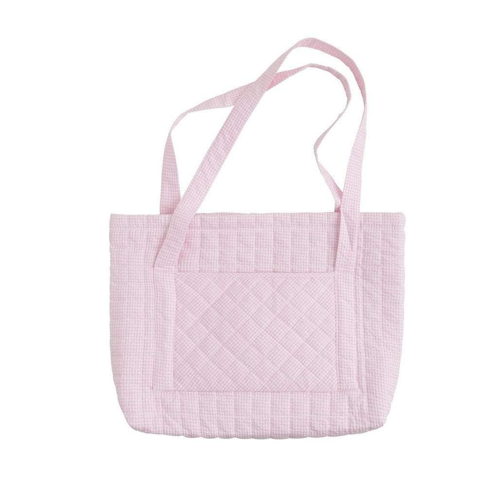 Little English gift Little English Light Pink Quilted Tote Bag