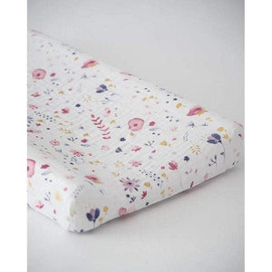 Little Unicorn Nursery Decor Little Unicorn Cotton Muslin Changing Pad Cover Fairy Garden